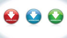 Tasten-Download Lizenzfreie Stockbilder