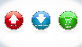 Tasten downloaden, hochladen, kaufen ihn jetzt Stockbild