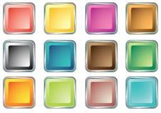 Tasten für Web-Einheiten 3 Lizenzfreies Stockfoto