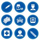 Tasten. Medizin Stockbilder