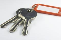 Tasten mit Schlüsselfob 02 Stockfoto