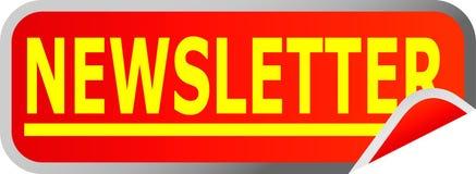 Tasten-Newsletter Stockfotos