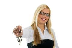 Tasten von Ihrem neuen Haus Lizenzfreie Stockbilder
