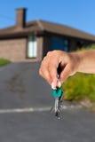 Tasten zum neuen Haus Lizenzfreie Stockfotografie