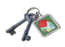 Tasten zum neuen Haus lizenzfreie stockfotos