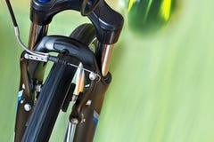Tasterzirkel-Bremsen mit Bodenplatte stockfoto