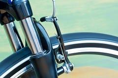 Tasterzirkel-Bremsen und Suspendierungs-Gabel lizenzfreie stockfotografie