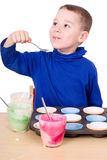 Tastes cupcake mixture Royalty Free Stock Photography