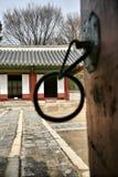 Tasti ad una città buddista antica Fotografia Stock Libera da Diritti