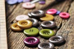 Tasti colorati Fotografie Stock Libere da Diritti