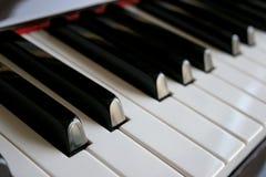 Tasti del piano Fotografia Stock