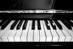 Tasti del piano Fotografie Stock