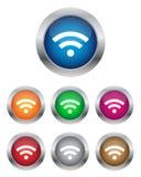 Tasti del Wi-Fi Fotografia Stock