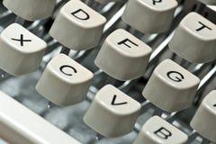 Tasti della macchina da scrivere Immagini Stock Libere da Diritti
