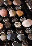 Tasti della macchina da scrivere Fotografie Stock Libere da Diritti