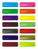 Tasti di colore Fotografia Stock