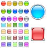 Tasti di colore Fotografie Stock