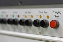 Tasti di controllo dello strumento scientifico Fotografia Stock
