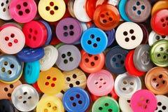 Tasti di cucito Fotografia Stock