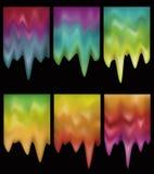 Tasti di fusione d'ardore di gradiente Fotografie Stock Libere da Diritti