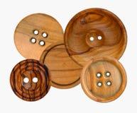 Tasti di legno Illustrazione di Stock