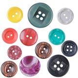 Tasti di plastica Immagine Stock