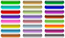 Tasti di Web Immagini Stock