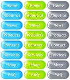 Tasti di Web Fotografie Stock Libere da Diritti