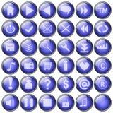 Tasti di Web Fotografia Stock