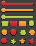Tasti di Web illustrazione di stock