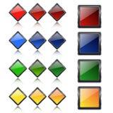 Tasti Multi-colored Fotografia Stock Libera da Diritti