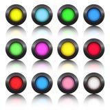 Tasti Multi-colored Immagine Stock Libera da Diritti