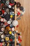 Tasti multicolori Fotografia Stock