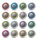 Tasti personalizzabili di Web Fotografie Stock