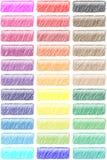 Tasti tritati di Web Fotografia Stock