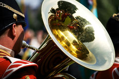 tastic tuba Fotografia Stock