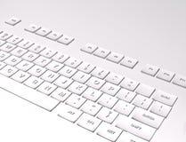 tastiera 3D su fondo bianco Immagini Stock Libere da Diritti