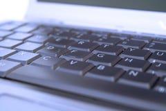 Tastiera blu Fotografia Stock