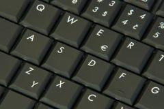 Tastiera del computer portatile Immagini Stock Libere da Diritti