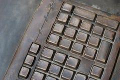 Tastiera del metallo Immagine Stock