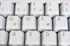 Tastiera del PC Fotografia Stock Libera da Diritti