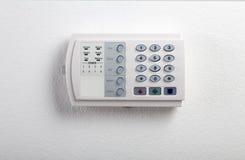Tastiera del sistema di sicurezza Immagini Stock
