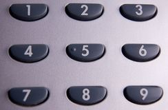 Tastiera del telefono Fotografia Stock Libera da Diritti