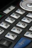 Tastiera del telefono delle cellule Fotografia Stock