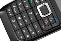 Tastiera del telefono mobile fotografia stock