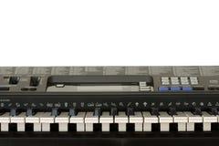 Tastiera dell'organo elettronico Fotografia Stock Libera da Diritti