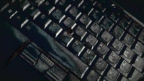 Tastiera della compressa Immagine Stock
