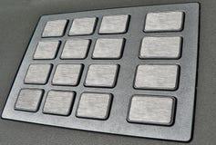 Tastiera della macchina dell'atmosfera Fotografia Stock