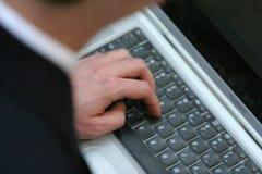 Tastiera di affari Immagine Stock