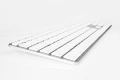 Tastiera di alluminio Fotografie Stock Libere da Diritti